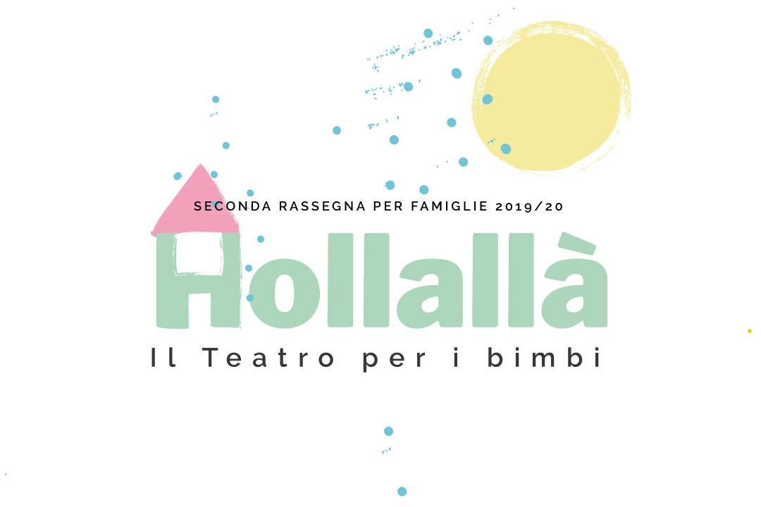 Locandina rassegna teatrale Hollallà di OfficinOff - Scicli