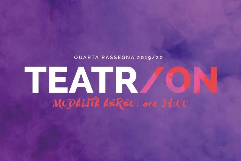 Locandina rassegna teatrale Teatr/On di OfficinOff - Scicli