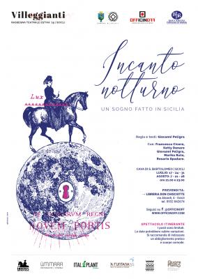 Incanto Notturno - artwork Serena Carpinteri/qbianco