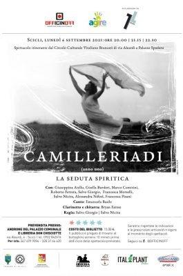 Camilleriadi anno Uno - la seduta spiritica - locandina